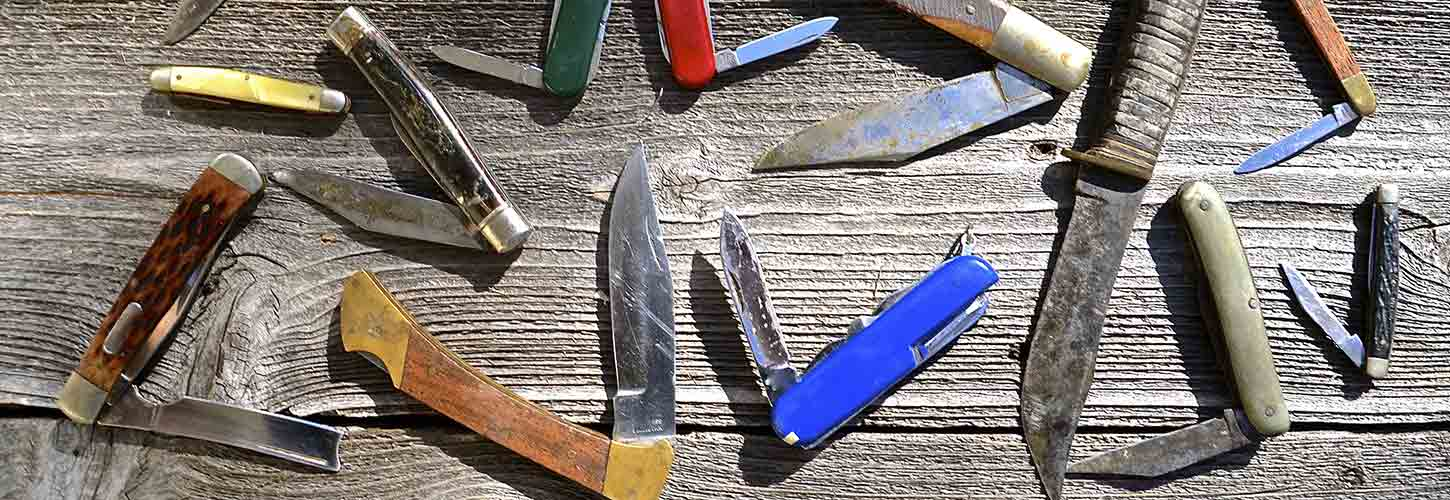Pocket Knife Blade Shapes