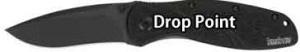 Pocket Knife Blade Shapes - Drop Point