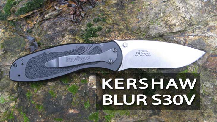 kershaw blur s30v