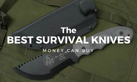 Best Survival Knife for the Outdoorsman