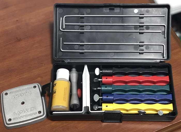 Lansky Deluxe sharpening kit review
