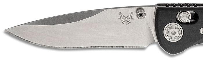 Benchmade Foray CPM-20CV Blade Steel