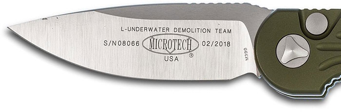 microtech LUDT Blade